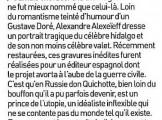 Presse_Alexeieff_Don Quichotte_Magazine litteraire 2012