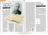 Presse_Nivat_Soljenitsyne_Magazine litteraire_2011