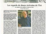 Presse_Ombre mur_Voix du Luxembourg 2009