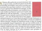 Presse_Ross_Wrangel_Politique magazine 2014